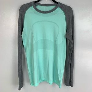 Lululemon swiftly tech long sleeve athletic shirt